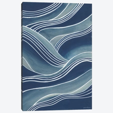 Wind & Waves III Canvas Print #VAN14} by Vanna Lam Canvas Art