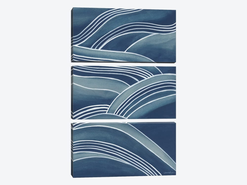 Wind & Waves IV by Vanna Lam 3-piece Canvas Art