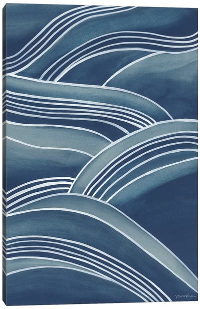 Wind & Waves IV Canvas Art Print
