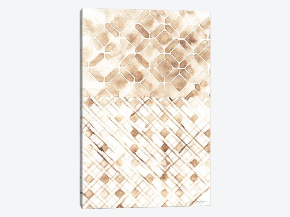 Sepia Madras I by Vanna Lam 1-piece Canvas Art