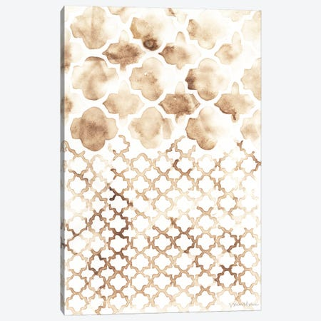 Sepia Madras II Canvas Print #VAN23} by Vanna Lam Canvas Artwork