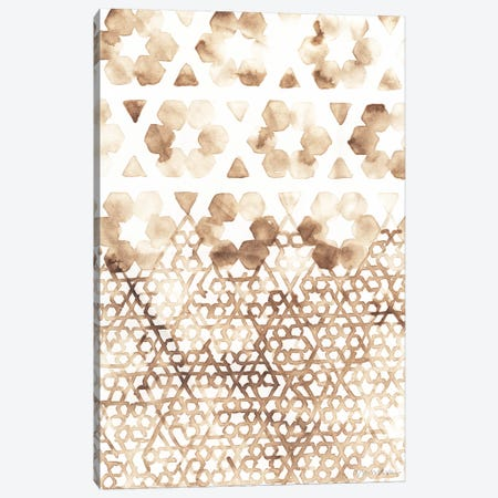 Sepia Madras III Canvas Print #VAN24} by Vanna Lam Canvas Art Print