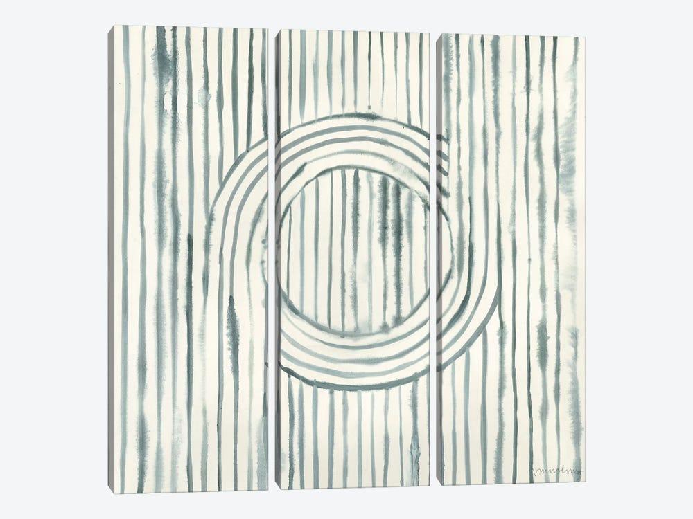 Gyrate I by Vanna Lam 3-piece Canvas Art Print