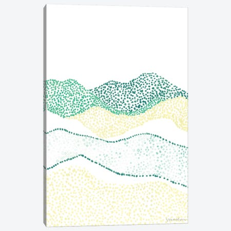 Terra Dots II Canvas Print #VAN39} by Vanna Lam Art Print