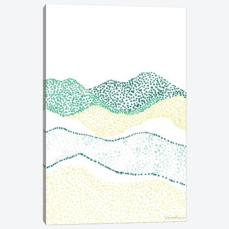 Terra Dots II Canvas Print #VAN39} by Vanna Lam Art Print