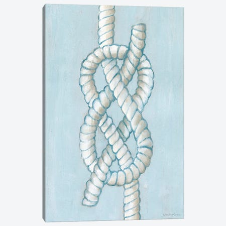 Starboard Knot I Canvas Print #VAN40} by Vanna Lam Canvas Art