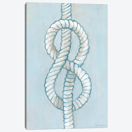 Starboard Knot II Canvas Print #VAN41} by Vanna Lam Canvas Art