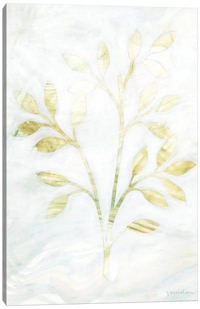 Breezy Fronds II Canvas Art Print