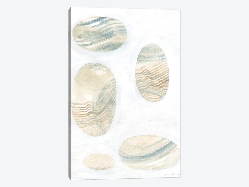 Neutral River Rocks III by Vanna Lam 1-piece Canvas Art