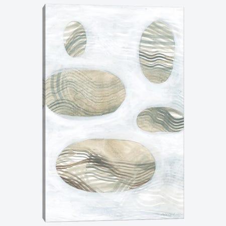 Neutral River Rocks IV Canvas Print #VAN52} by Vanna Lam Canvas Print
