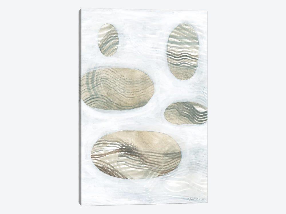 Neutral River Rocks IV by Vanna Lam 1-piece Art Print