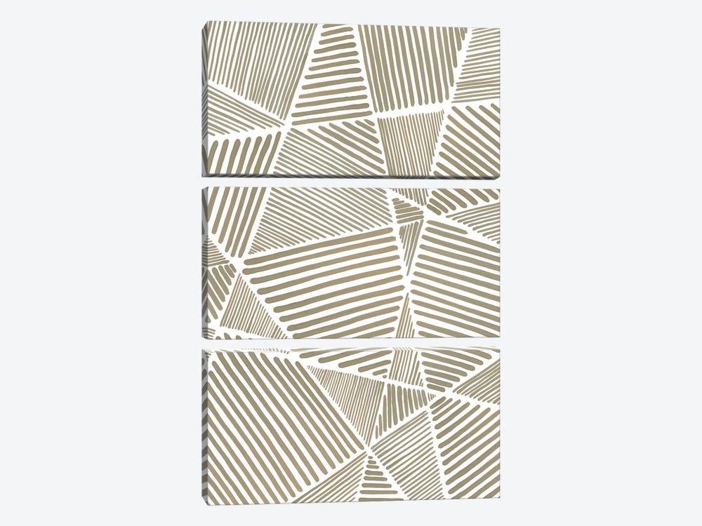 Crossbar I by Vanna Lam 3-piece Canvas Artwork
