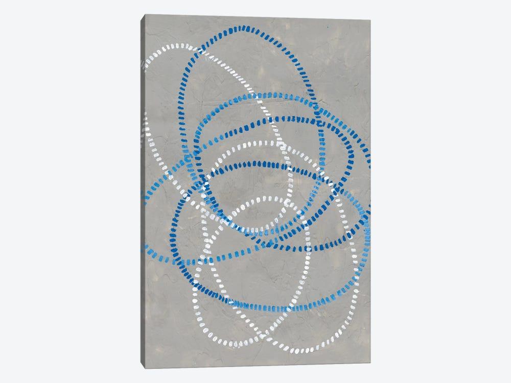 Running Stitch II by Vanna Lam 1-piece Canvas Wall Art