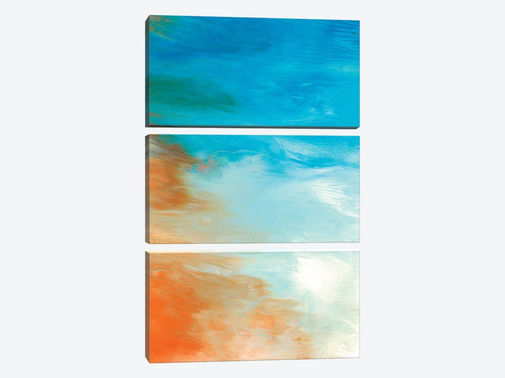 Neptune Sky II 3-piece Canvas Art