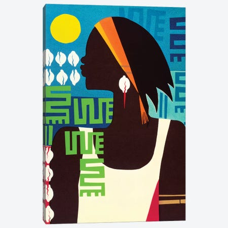 Virtuous Woman Canvas Print #VAR1} by Varnette Honeywood Canvas Artwork