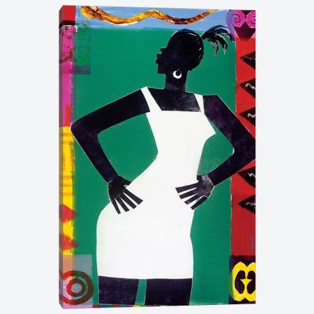 St. Sapphire Canvas Print #VAR2} by Varnette Honeywood Canvas Artwork