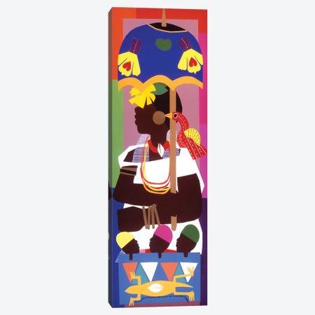 Ashanti 3-Piece Canvas #VAR3} by Varnette Honeywood Canvas Wall Art