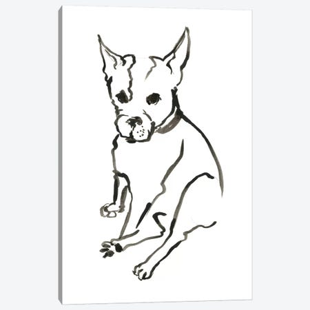 WAG: The Dog VIII Canvas Print #VBI10} by Vanessa Binder Canvas Artwork