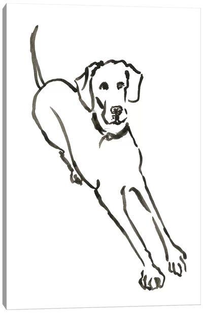 WAG: The Dog II Canvas Art Print