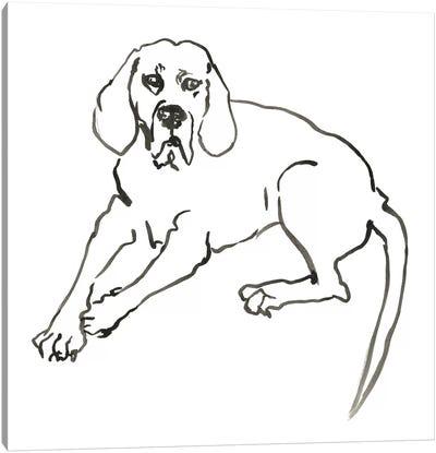 WAG: The Dog III Canvas Art Print