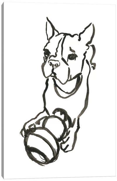 WAG: The Dog IX Canvas Art Print