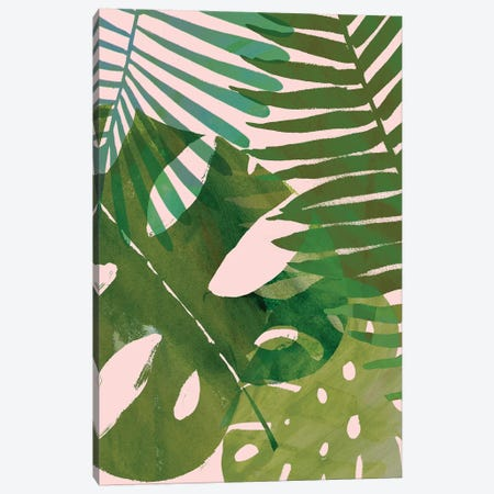 Tropical Tangle II Canvas Print #VBO100} by Victoria Borges Canvas Art
