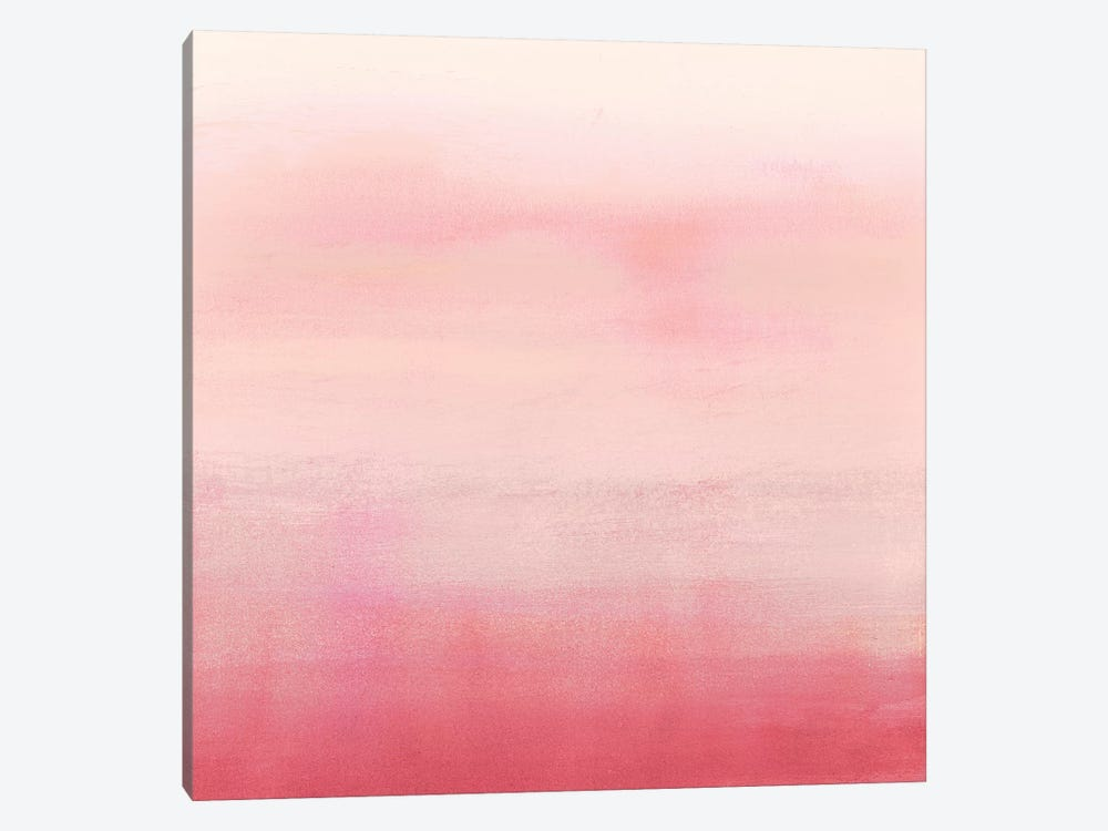 Apricot Ombre II by Victoria Borges 1-piece Canvas Wall Art