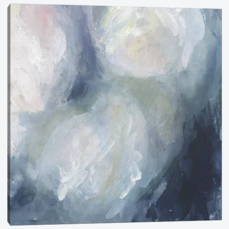 Blue Ambrosia II 3-Piece Canvas #VBO112} by Victoria Borges Canvas Art Print