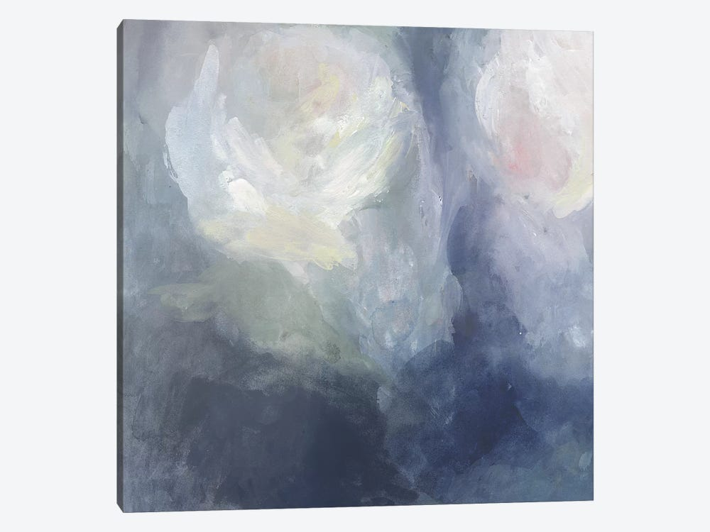 Blue Ambrosia III by Victoria Borges 1-piece Canvas Artwork