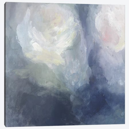 Blue Ambrosia III 3-Piece Canvas #VBO113} by Victoria Borges Canvas Art Print