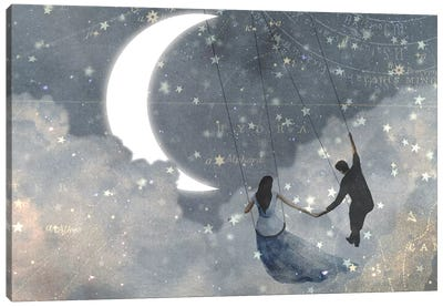 Celestial Love I Canvas Art Print