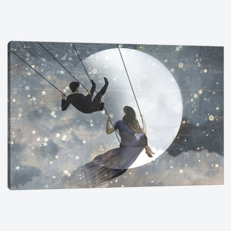 Celestial Love II Canvas Print #VBO116} by Victoria Borges Canvas Artwork