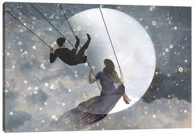 Celestial Love II Canvas Art Print