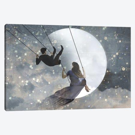 Celestial Love II 3-Piece Canvas #VBO116} by Victoria Borges Canvas Artwork