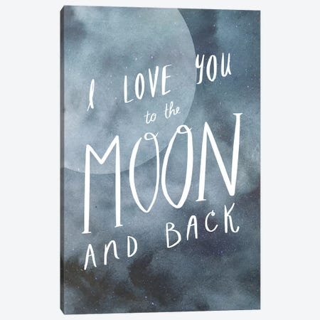 Celestial Love III Canvas Print #VBO117} by Victoria Borges Canvas Artwork