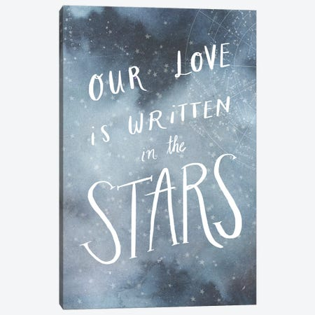 Celestial Love IV Canvas Print #VBO118} by Victoria Borges Canvas Print