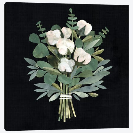 Cut Paper Bouquet I Canvas Print #VBO125} by Victoria Borges Art Print