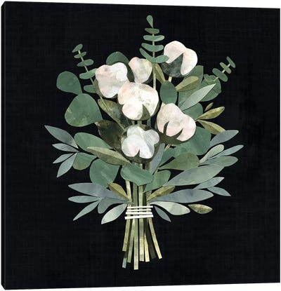 Cut Paper Bouquet I Canvas Art Print