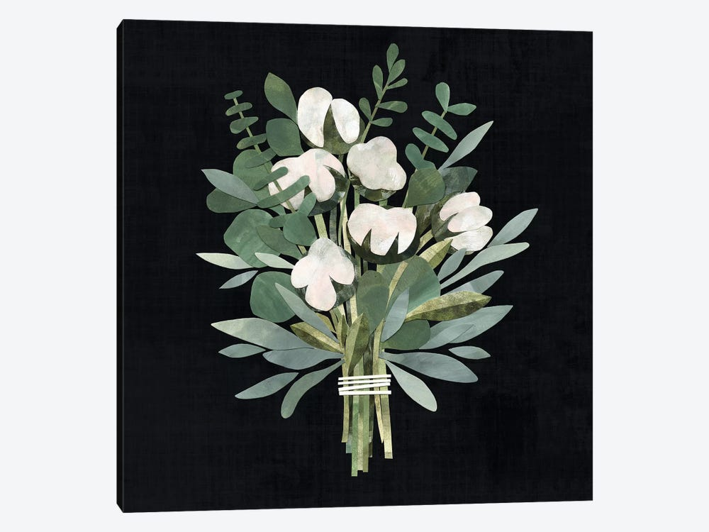 Cut Paper Bouquet II by Victoria Borges 1-piece Canvas Wall Art