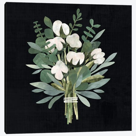 Cut Paper Bouquet II 3-Piece Canvas #VBO126} by Victoria Borges Canvas Print