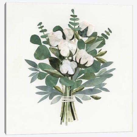 Cut Paper Bouquet III Canvas Print #VBO127} by Victoria Borges Canvas Art Print
