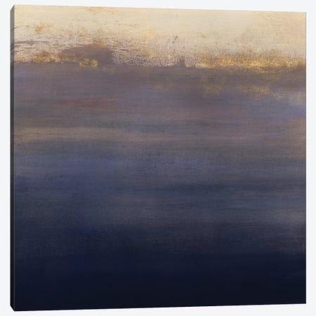 Indigo Sundown I Canvas Print #VBO143} by Victoria Borges Canvas Wall Art