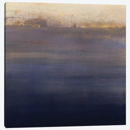 Indigo Sundown I 3-Piece Canvas #VBO143} by Victoria Borges Canvas Wall Art