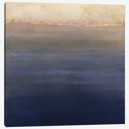 Indigo Sundown II Canvas Print #VBO144} by Victoria Borges Canvas Print
