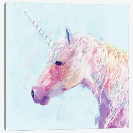 Mystic Unicorn II Canvas Print #VBO154} by Victoria Borges Canvas Artwork
