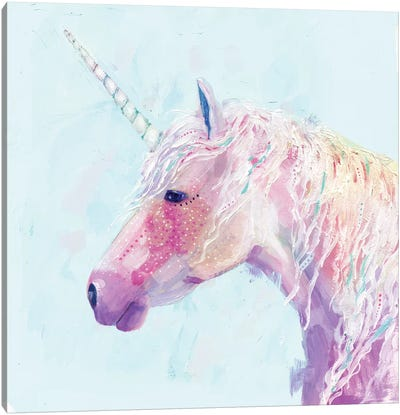 Mystic Unicorn II Canvas Art Print