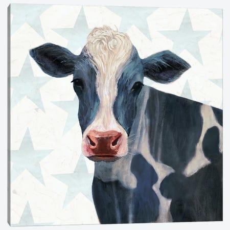 Patriotic Farm I Canvas Print #VBO157} by Victoria Borges Canvas Wall Art