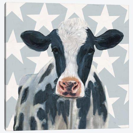 Patriotic Farm II Canvas Print #VBO158} by Victoria Borges Canvas Print