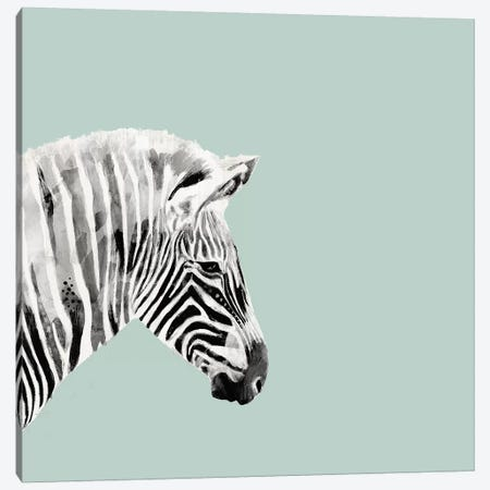 Pop Safari I Canvas Print #VBO161} by Victoria Borges Canvas Artwork