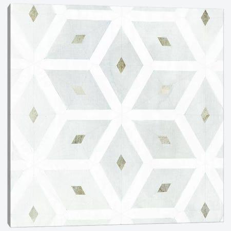 Seaglass Tiles I Canvas Print #VBO173} by Victoria Borges Art Print